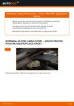 Jak wymienić klocki hamulcowe przód w Volvo V50 MW - poradnik naprawy