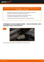 Jak wymienić Zestaw szczęk hamulcowych hamulec postojowy przednie Audi A4 B5 - instrukcje online