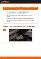 Návod na riešenie problémov: VOLVO V50 manuál