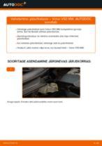 Automehaaniku soovitused, selleks et vahetada välja VOLVO Volvo v50 mw 1.6 D Amort