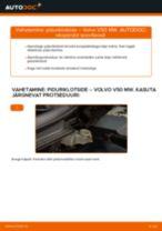 VOLVO S40 remont ja hooldus juhend