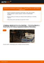 Online bezplatné pokyny ako obnoviť Ulożenie lożiska TOYOTA PRIUS Hatchback (NHW20_)