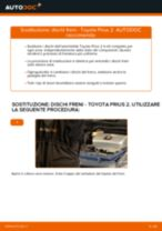Montaggio Kit dischi freno TOYOTA PRIUS Hatchback (NHW20_) - video gratuito