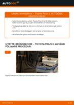 Byta bromsskivor fram på Toyota Prius 2 – utbytesguide