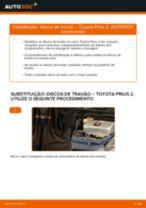 Recomendações do mecânico de automóveis sobre a substituição de TOYOTA Toyota Prius 2 1.5 Hybrid (NHW2_) Tirante da Barra Estabilizadora