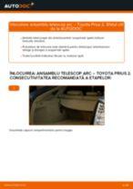 Înlocuire Set amortizoare spate si față TOYOTA cu propriile mâini - online instrucțiuni pdf