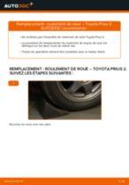 Remplacement de Étrier De Frein sur TOYOTA PRIUS Hatchback (NHW20_) : trucs et astuces