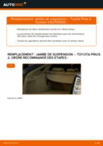 Tutoriel PDF étape par étape sur le changement de Sonde Lambda sur Opel Zafira f75