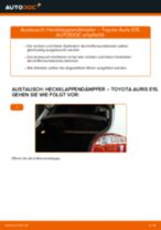 TOYOTA AURIS (NRE15_, ZZE15_, ADE15_, ZRE15_, NDE15_) Bremsbeläge für Trommelbremsen ersetzen - Tipps und Tricks