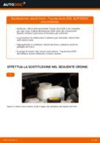 Come cambiare dischi freno della parte anteriore su Toyota Auris E15 - Guida alla sostituzione