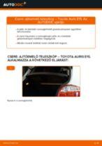 Útmutató PDF AURIS karbantartásáról