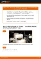 PDF manual pentru întreținere AURIS