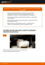 DAIHATSU COPEN Bremsbeläge wechseln vorderachse und hinterachse Anleitung pdf