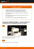 LEXUS Radnabe hinten links rechts wechseln - Online-Handbuch PDF