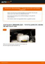 FORD Bremszylinder Hinten hinten links selber auswechseln - Online-Anleitung PDF