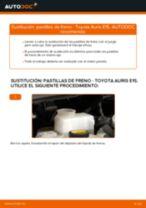 Reemplazar Cable de accionamiento freno de estacionamiento TOYOTA AURIS: pdf gratis