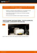 Come cambiare pastiglie freno della parte anteriore su Toyota Auris E15 - Guida alla sostituzione