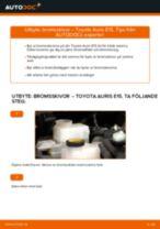 Verkstadshandbok för Lexus IS 3