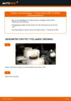 PDF Manual för reparation av reservdelar bil: AURIS (NRE15_, ZZE15_, ADE15_, ZRE15_, NDE15_)