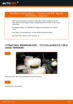 Bytte Bremseskiver bak og foran TOYOTA gjør-det-selv - manualer pdf på nett