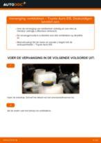 MINI Remslang achter en vóór veranderen doe het zelf - online handleiding pdf