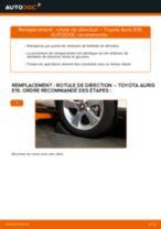 Comment changer : rotule de rirection sur Toyota Auris E15 - Guide de remplacement