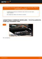 Automekaniker anbefalinger for udskiftning af TOYOTA Toyota Auris e15 2.0 D-4D (ADE150_) Hjulleje