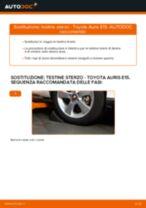 Come cambiare testine sterzo su Toyota Auris E15 - Guida alla sostituzione
