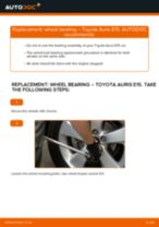 Replacing Suspension arm on TOYOTA AURIS (NRE15_, ZZE15_, ADE15_, ZRE15_, NDE15_) - tips and tricks