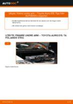 Bilmekanikers rekommendationer om att byta TOYOTA Toyota Auris e15 2.0 D-4D (ADE150_) Bromsbelägg