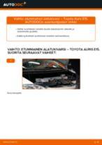 TOYOTA AURIS Kallistuksenvakaajan kumit vaihto: ilmainen pdf