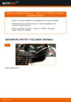 DIY-manual för byte av Krängningshämmarbussning i SKODA OCTAVIA 2020