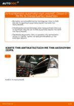 Πώς να αλλάξετε αμορτισέρ πορτ μπαγκαζ σε Citroen C1 1 PM PN - Οδηγίες αντικατάστασης