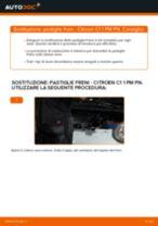 Montaggio Kit pasticche freni CITROËN C1 (PM_, PN_) - video gratuito