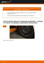 Montaggio Braccetto oscillante CITROËN C1 (PM_, PN_) - video gratuito