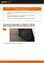 Wechseln von Spurgelenk CITROËN C1: PDF kostenlos