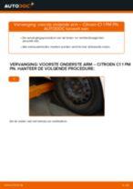 Ontvang onze informatieve handleiding voor het oplossen van het CITROËN Draagarm wielophanging links en rechts probleem
