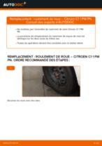 Instructions gratuites en ligne sur comment rénover Barre de stabilisation CITROËN C1 (PM_, PN_)