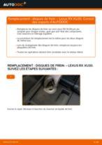 Notre guide PDF gratuit vous aidera à résoudre vos problèmes de LEXUS Lexus RX XU30 3.0 Ressort d'Amortisseur