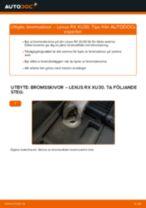 LEXUS IS C (GSE2_) reparations- och underhåll handledning
