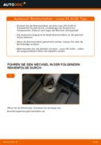 Schritt-für-Schritt-PDF-Tutorial zum Verschleißanzeige Bremsbeläge-Austausch beim DAIHATSU Mira Tocot (LA5_)