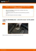 Verkstadshandbok för LEXUS RX (_L2_)