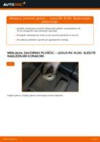 Vodič PDF po korakih za menjavo LEXUS RX (MHU3_, GSU3_, MCU3_) Ležaj Amortizerja