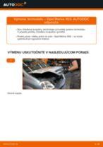Ako vymeniť termostat na Opel Meriva X03 – návod na výmenu