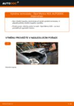 Jak vyměnit termostat na Opel Meriva X03 – návod k výměně