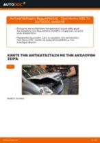 Πώς να αλλάξετε θερμοστάτης σε Opel Meriva X03 - Οδηγίες αντικατάστασης