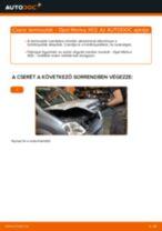Autószerelői ajánlások - OPEL Opel Meriva x03 1.6 16V (E75) Olajszűrő csere