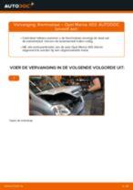 Hoe thermostaat vervangen bij een Opel Meriva X03 – vervangingshandleiding