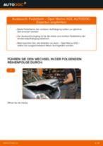 Wie Federbein OPEL MERIVA auswechseln und einstellen: PDF-Anleitung