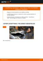 Udskift fjederben for - Opel Meriva X03 | Brugeranvisning